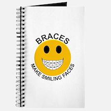 Braces Make Smiling Faces Journal