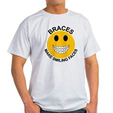 Braces Make Smiling Faces T-Shirt