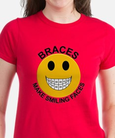 Braces Make Smiling Faces Tee