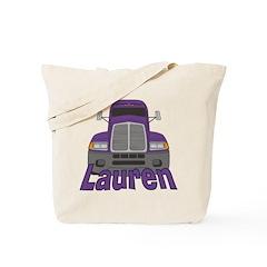 Trucker Lauren Tote Bag