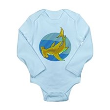 Shark Long Sleeve Infant Bodysuit