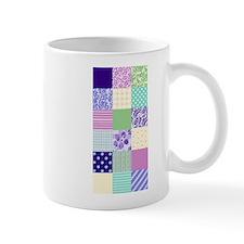 Girly pattern squares Mug