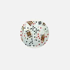 Playing Cards Mini Button (10 pack)