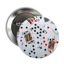 "Playing Cards 2.25"" Button"