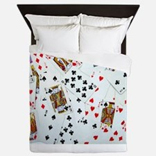 Playing Cards Queen Duvet