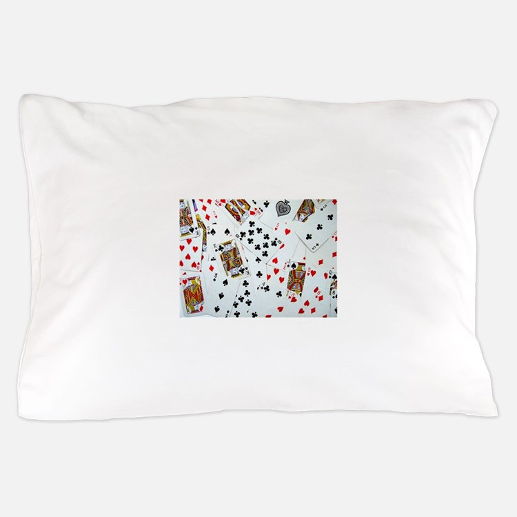 Playing Cards Pillow Case