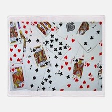 Playing Cards Throw Blanket