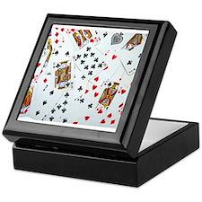 Playing Cards Keepsake Box