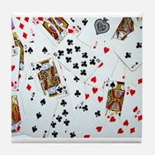 Playing Cards Tile Coaster