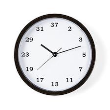 Unique Primes Wall Clock