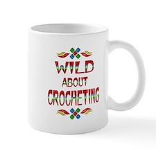 Wild About Crocheting Mug