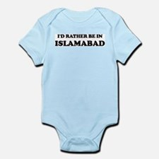 Rather be in Islamabad Infant Creeper