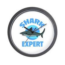 Shark Expert Wall Clock