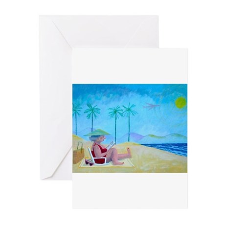 La Jolla Bookworm Greeting Cards (Pk of 10)