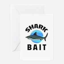 Shark Bait Greeting Card