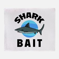 Shark Bait Throw Blanket