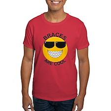 Braces Are Cool / Sunglasses T-Shirt