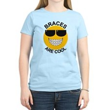 Braces Are Cool / Sunglasses T-Shirt