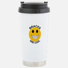 Braces Are Cool Stainless Steel Travel Mug