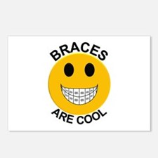Braces Are Cool Postcards (Package of 8)