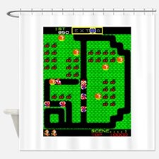Mr Do! Game Screen Shower Curtain