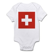 Flag of Switzerland Infant Bodysuit