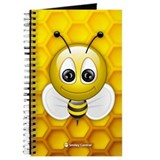 Bee notebook journal Journals & Spiral Notebooks