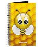 Bee notebook journal Journals & Spiral Notebooks