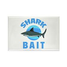 Shark Bait Rectangle Magnet