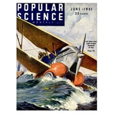 Popular Science Cover, June 1931 Poster