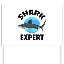 Shark Expert Yard Sign