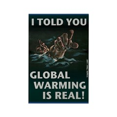 Global Warming is Real Magnet