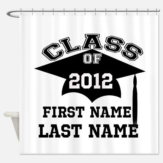 graduate Shower Curtain
