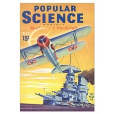Popular Science Cover, July 1940 Framed Print