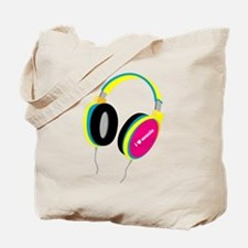House Music Headphones Tote Bag