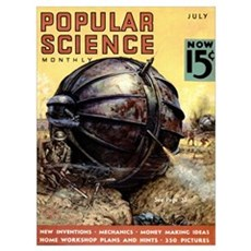 Popular Science Cover, July 1936 Poster