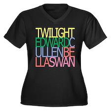ts-twilight-mix-color.png Women's Plus Size V-Neck