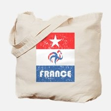 france-fff-distressed.png Tote Bag