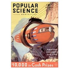 Popular Science Cover, July 1932 Poster
