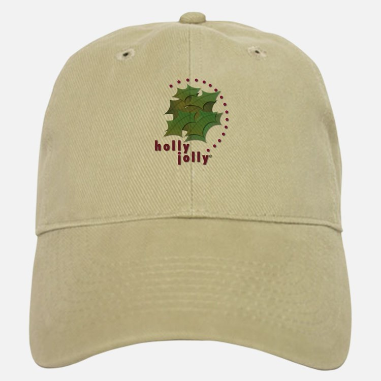 Holly Jolly Baseball Baseball Cap