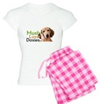 Must Love Doxies Women's Light Pajamas