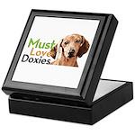 Must Love Doxies Keepsake Box