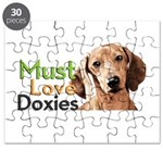 Must Love Doxies Puzzle