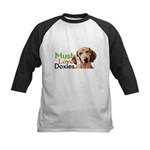 Must Love Doxies Kids Baseball Jersey