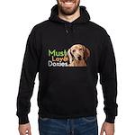 Must Love Doxies Hoodie (dark)