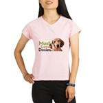 Must Love Doxies Performance Dry T-Shirt