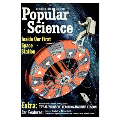 Popular Science Cover, December 1962 Poster