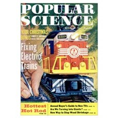 Popular Science Cover, December 1959 Poster