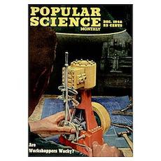 Popular Science Cover, December 1946 Poster