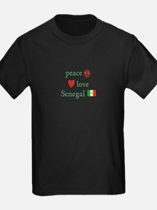 Peace Love and Senegal T